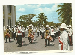 BAHAMAS  GUARD  VIAGGIATA  1972 - Cartoline