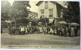 RESTAURANT JACQUINOT , CINÉLUX - ROUTE NATIONALE - BRUNOY PYRAMIDE - BRUNOY - Brunoy
