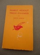 Librairie Des Champs Elysées Le Masque - 1961 - No 714 - Agatha Christie - Poirot Résout Trois Enigmes - - Le Masque