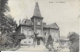 AMAY   LE CHATEAU  ( ECRITE  1908 ) - Amay