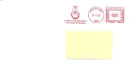 ITALIA - 2002 Comuni D'Italia: SOLIERA (MO) - Stemma: Sole - Marcophilie - EMA (Empreintes Machines)