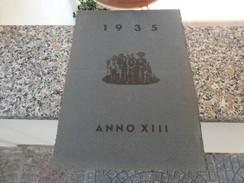 Calendario 1935 Urbino A.XIII - Calendari