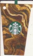 Thailand Starbucks Card Cold Frappuchino 2016 - 6136 - Gift Cards