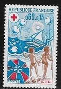 N° 1828 ET 1829    FRANCE  -  NEUF  -  CROIX ROUGE ETE HIVE-  1974 - Unused Stamps