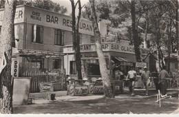 """LA CAPTE - HYERES -   Bar Restaurant - Hôtel , Chez """" Nicole """"     ( Rare ) - Hyeres"""