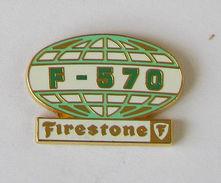Pin's PNEU - FIRESTONE F-570 Signé SUCCES - Transport