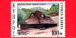 Nuovo - MNH - CIPRO - 1973 - Natale - Christmas - Chiesa - Church Of Arakas - 100 - Chypre (République)