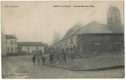 Marly La Ville Fereme Marcou Filou Coll. Capfuzan  Edit L. Laroche à L' Abbaye Livry - Marly La Ville