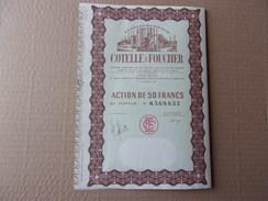 Ets COTELLE & FOUCHER (issy Les Moulineaux) - Shareholdings