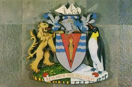 ANTARCTIC - BRITISH ANTARCTIC SURVEY COAT OF ARMS - Postcards