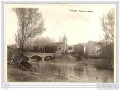 TINTIGNY ..-- Pont Sur La Semois . Voir Verso .  01.01.1947 Vers COURTRAI . - Tintigny
