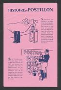 Publicite - Buvard - HISTOIRE DU POSTILLON - P