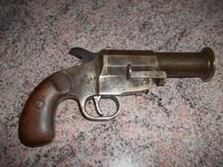 Rare Pistolet Lance Fusees Allemand , Leuchtpistole, Weber Mle 15. - Sammlerwaffen