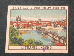 Chromo Chocolat PUPIER : LITUANIE. KOVNO. (LIETUVA) Ttbe - Chocolate