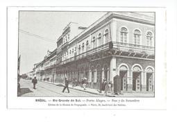 Brésil Rio Grande Do Sul Porto Alegre Rue 7 De Setembre - Porto Alegre