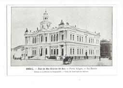 Brésil Etat De Rio Grande Do Sul Porto Alegre La Mairie - Porto Alegre