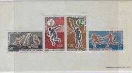 Bloc Feuillet  Jeux Olympique Tokyo 1964 - Niger (1960-...)