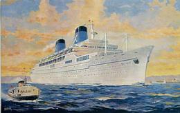 SHIPPING - CHANDRIS LINES - RHMS ELLINIS - Steamers