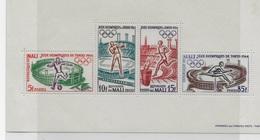 Bloc Feuillet  Jeux Olympique Tokyo 1964 - Mali (1959-...)