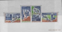 Bloc Feuillet  Jeux Olympique Munich - Mali (1959-...)