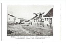 Brésil Rio Grande Do Sul Une Rue De Hambourgberg (colonie) - Brésil