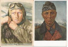 1939/42 - DEUTSCHE PROPAGANDE, 2 Stk. Gute Zustand, 2 Scan - Guerre 1939-45