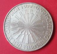 ALLEMAGNE :   10 MARK 1972  J  .  J.O. MUNICH . - [10] Commémoratives