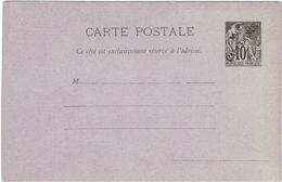 LCTN47/5 -N.LLE CALEDONIE  CARTE POSTALE SURCHARGEE NEUVE TB - Briefe U. Dokumente