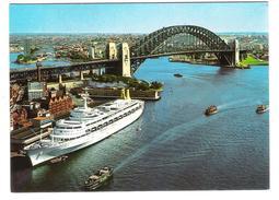 Australia - Sydney - Harbour Bridge From A. M. P. Building - Schiff - Ship - Dampfer - Nice Stamp - Sydney