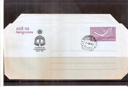 Aérogramme India (à Voir)