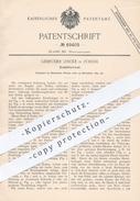 Original Patent - Gebr. Lincke , Zürich , 1891 , Schüttelrost | Rost , Ofenrost , Ofen , Öfen , Ofenbauer , Heizung !! - Historische Dokumente