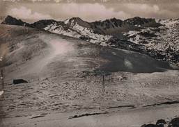 CPSM  Andorre  (timbre Francais)  Port Envalira - Andorra
