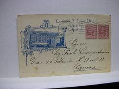 CHIAVARI -- GENOVA --   COLLEGIO N.S. DELL'ORTO - Genova (Genoa)