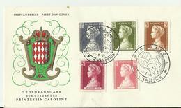 MONACO FDC 1957 - FDC