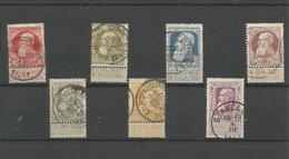 OCB  74 ==> 80 Gestempeld - 1905 Grosse Barbe