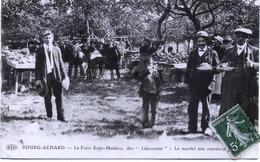 """27 - Bourg - Achard : La Foire Saint-Mathieu , Dite """"Labourette"""" - Le Marché Aux Cantaloups . - France"""