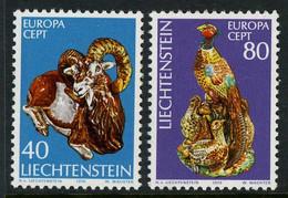 Liechtenstein 1976. Michel #642/43 MNH/Luxe. Europa-CEPT