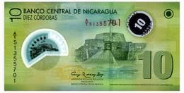 NICARAGUA 10 CORDOBAS 2007(2012) Pick 201 Unc - Nicaragua