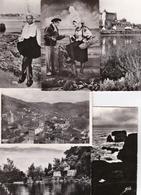 LOT 100 CPSM  9X14  FRANCE DENTELEES. - 100 - 499 Postcards