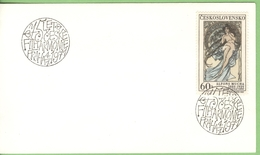 1971 Yt 1732 -  Muziek Music Musique Musik - Philharmonie  Filharmonie - Alfons Mucha - Covers & Documents