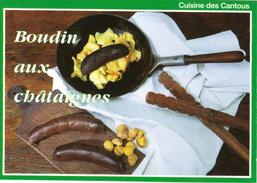 CUISINE DES CANTOUS - BOUDIN AUX CHATAIGNES - EDITIONS DEBAISIEUX - Küchenrezepte