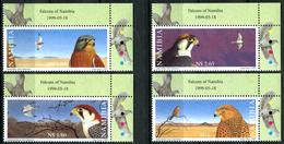 NAMIBIA 1999 Birds Of Prey, Falcons, Fauna MNH - Namibia (1990- ...)