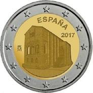 SPAGNA - 2 Euro 2017 - Oviedo - Asturie - UNC - España