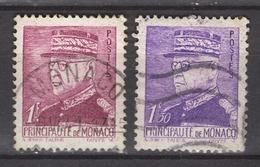MONACO 1941 -  Y.T.  N° 227 ET 230 - OBLITERES /FD307 - Usati