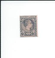 ZMonN0008 - RARE - Timbre Authentique (signé) - MONACO 1885 - N° 8 Neuf* - Prince Charles II - Très Belle Côte - Monaco