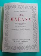 """HONORE DE BALZAC """" LES MARANA """" T.II EDIT. DU CENTENAIRE 1952 ALBERT GUILLOT  DESSINS GASTON BARRET - 1901-1940"""