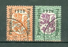 Finland  1928  Yv 134/135, Mi 138/139  Philatelic Exhibition Cat. Yv. € 36,00