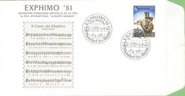 1981 Yt 921 - Muziek Music Musique Musik Militaire - Exphimo 81 Trompet - Augusto Massari