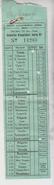Biglietto Ticket Billet Soc. Automobilistica Atesina Trento Lavarone  1940 Regno  Gg - Europa