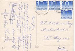 Ansicht 6 Sep 1977 Rozenburg 2 (stempeltype Openbalk) - Postal History